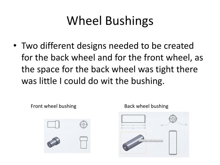 Wheel Bushings