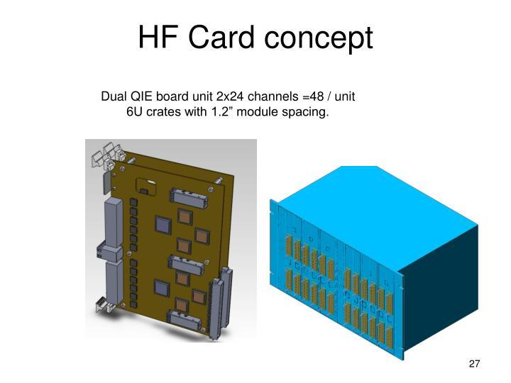 HF Card concept