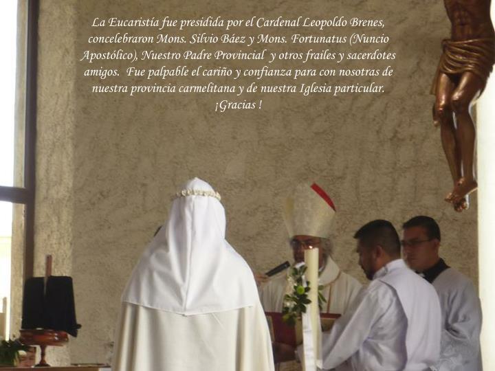 La Eucaristía fue presidida por el Car
