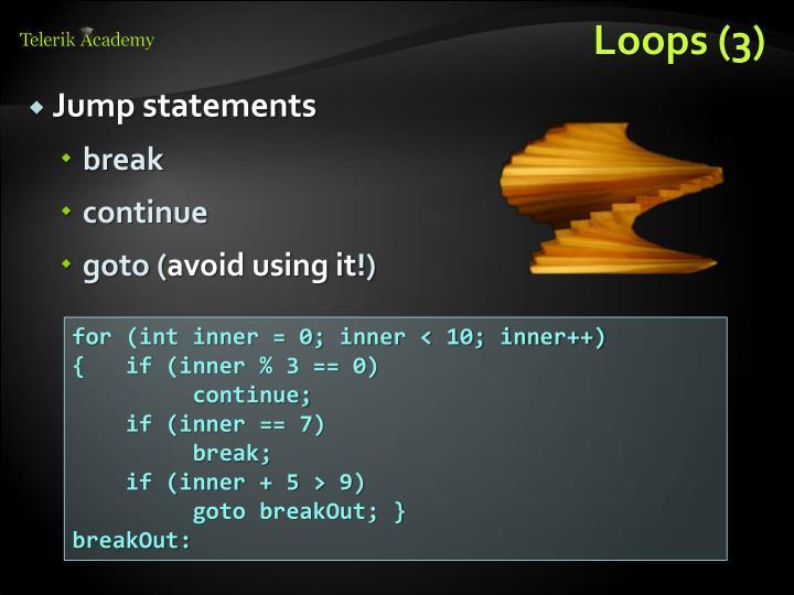 Loops (3)