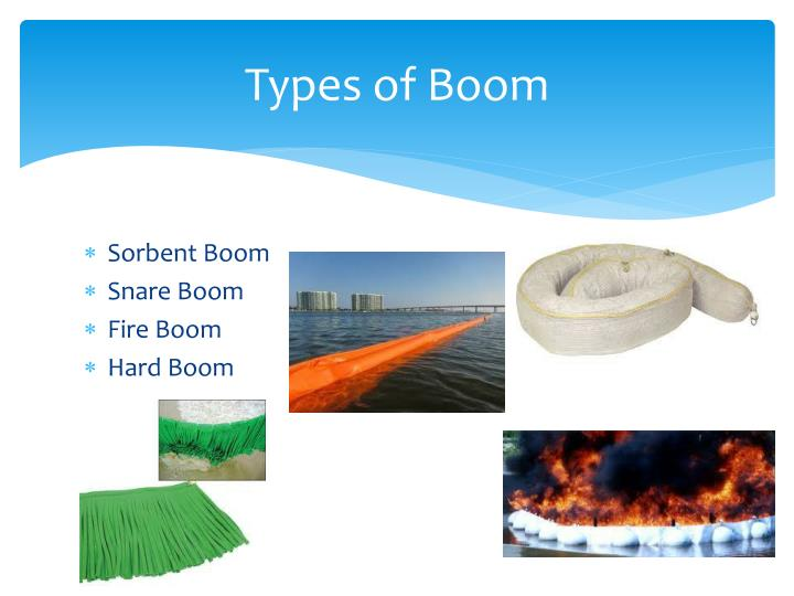 Types of Boom
