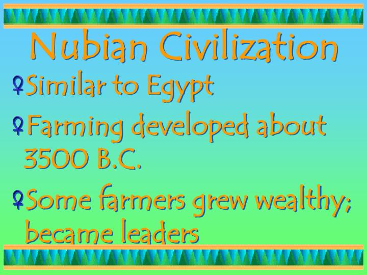 Nubian Civilization