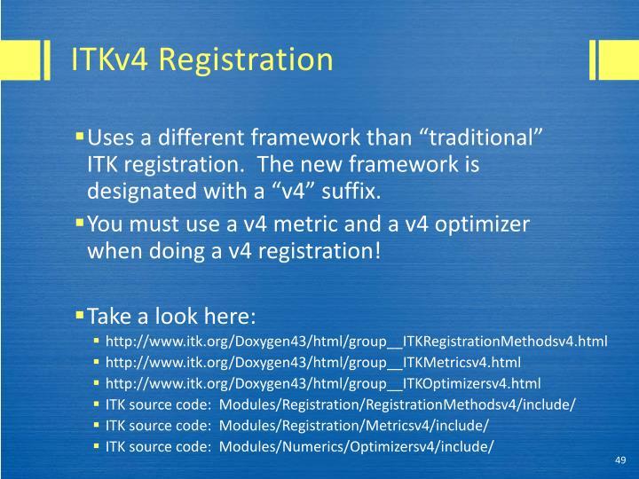 ITKv4 Registration