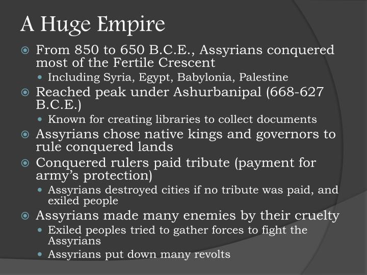 A Huge Empire