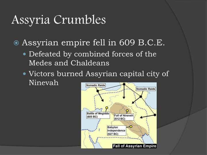 Assyria Crumbles