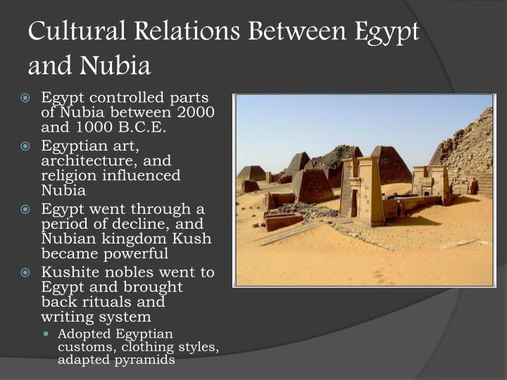 Cultural Relations Between Egypt and