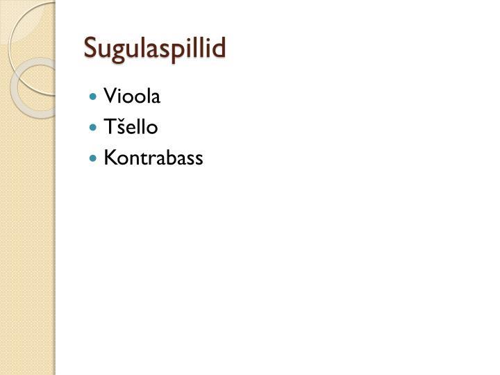 Sugulaspillid