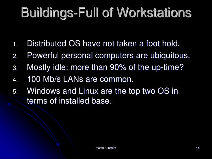 Buildings-Full of Workstations