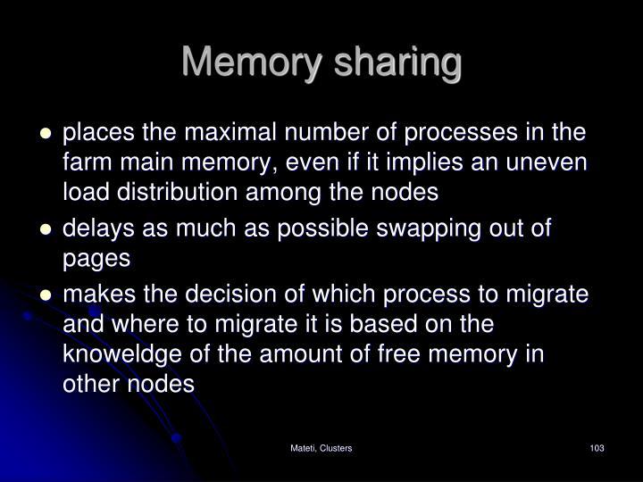 Memory sharing