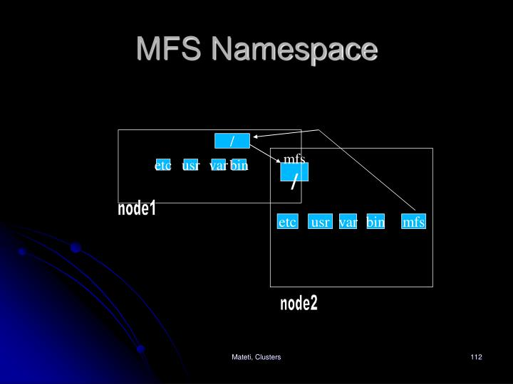 MFS Namespace