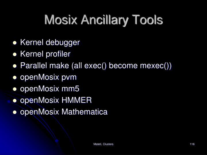 Mosix Ancillary Tools