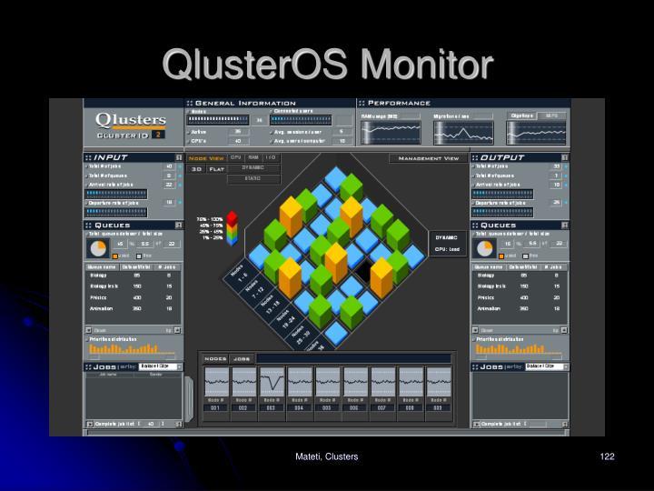 QlusterOS Monitor