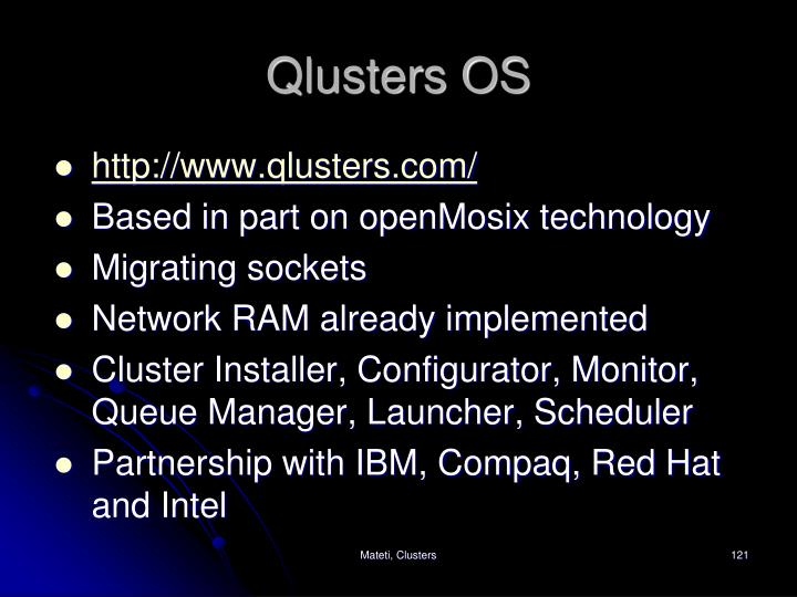 Qlusters OS