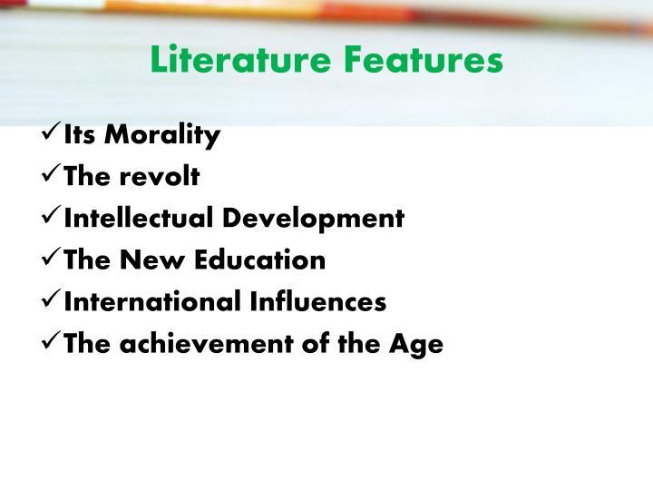 Literature Features