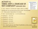 activity a vimeo shift 3 staircase of text complexity engageny org