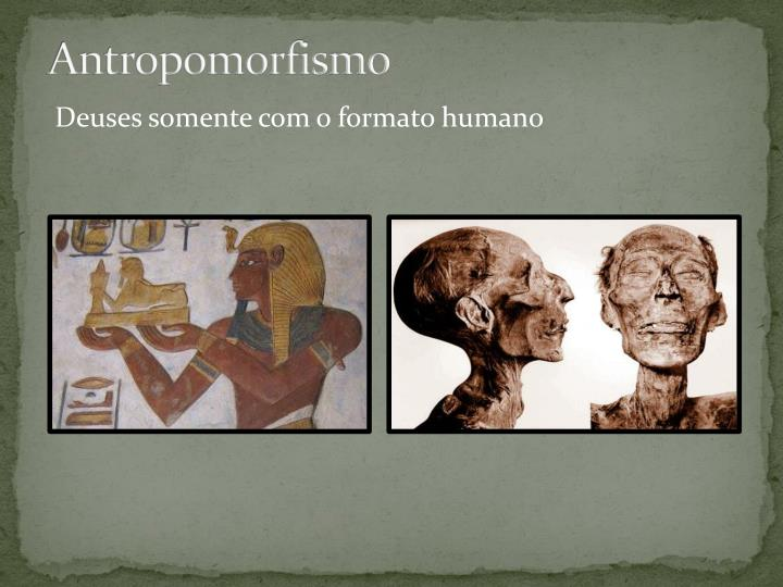 Antropomorfismo