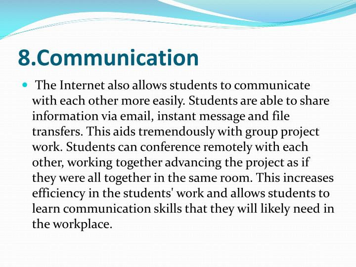 8.Communication