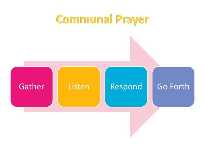 Communal Prayer