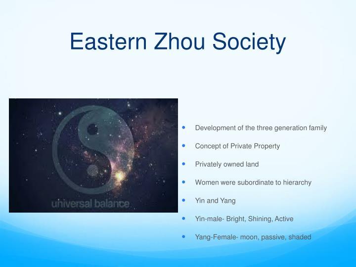 Eastern Zhou Society