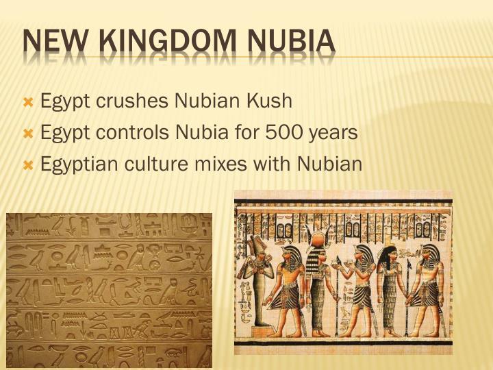 Egypt crushes Nubian Kush
