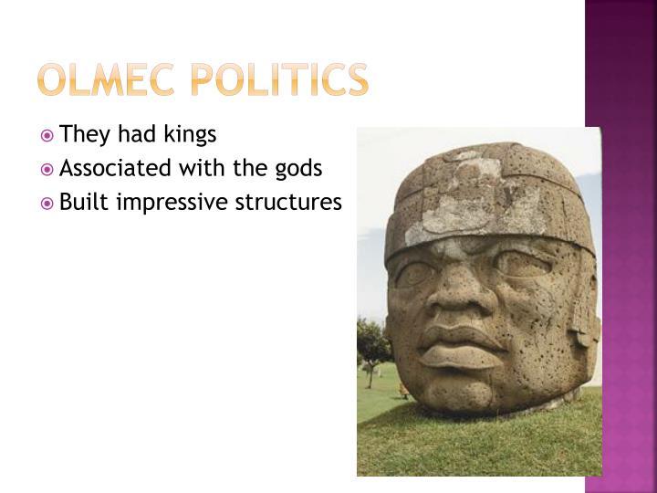 Olmec Politics