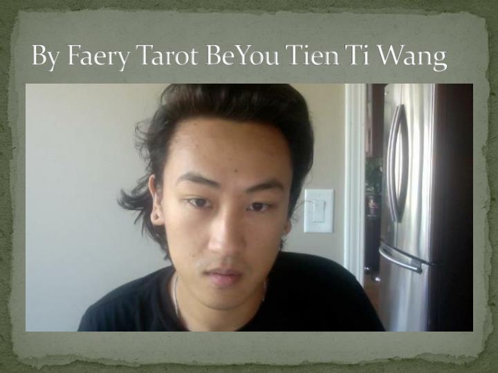 By Faery Tarot