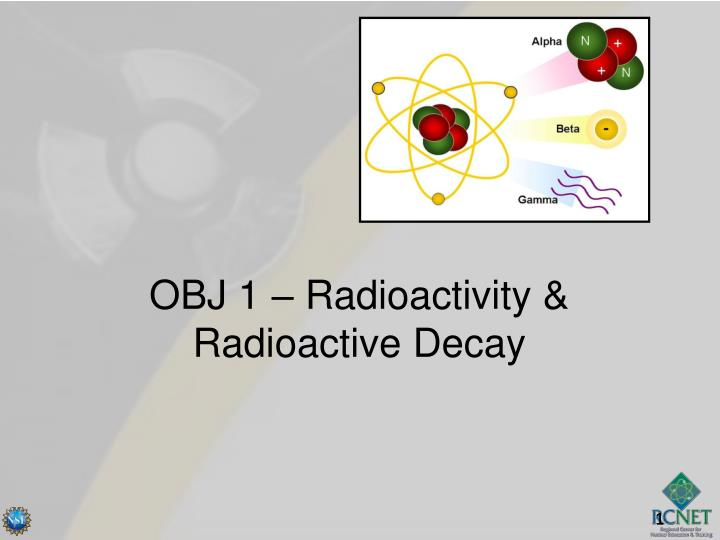 Obj 1 radioactivity radioactive decay