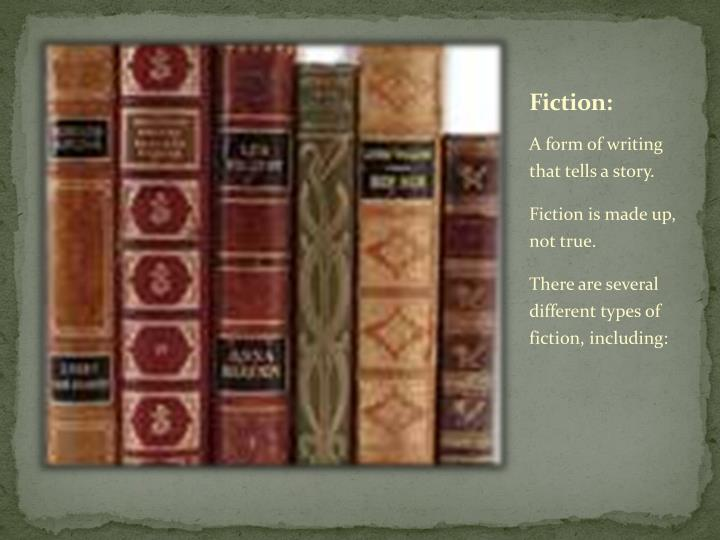 Fiction: