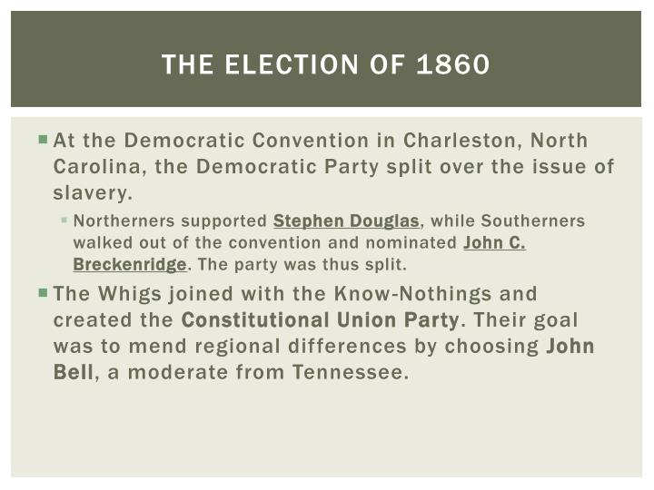 The election of 18601
