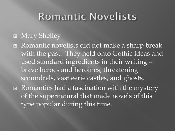 Romantic Novelists
