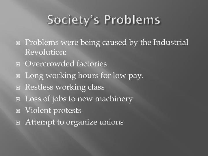 Society's Problems