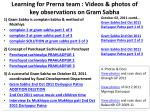 learning for prerna team videos photos of key observations on gram sabha