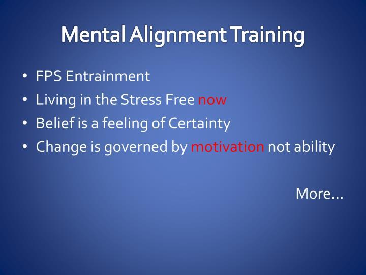 Mental Alignment Training