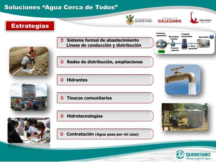 """Soluciones """"Agua"""
