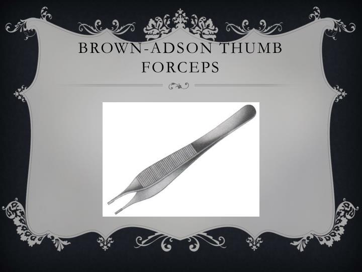 Brown-