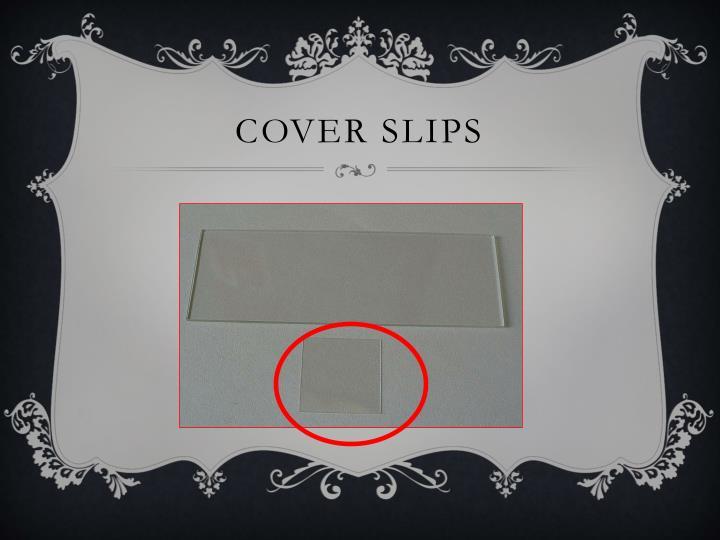 Cover Slips