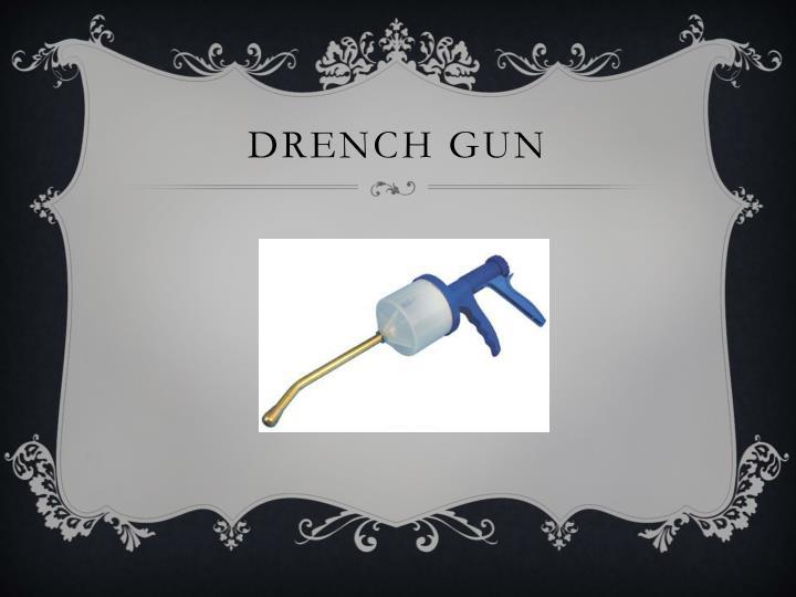 Drench gun