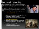 regional identity