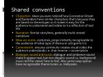 shared conventions