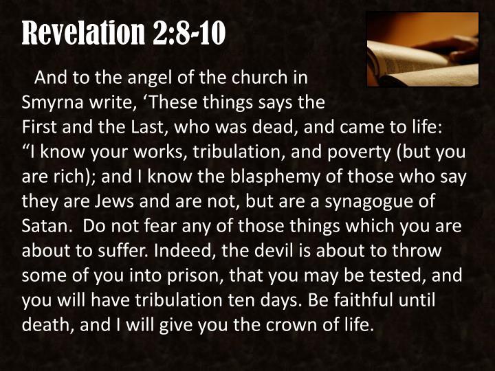 Revelation 2:8-10