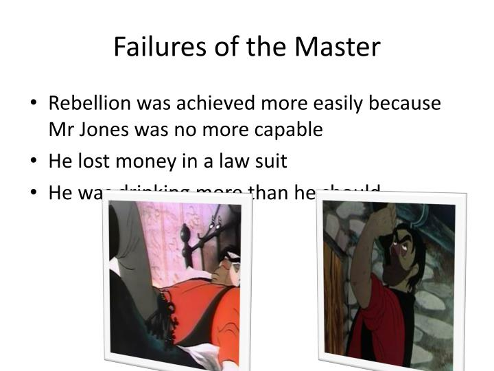 Failures of the Master