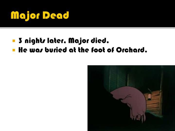 Major Dead