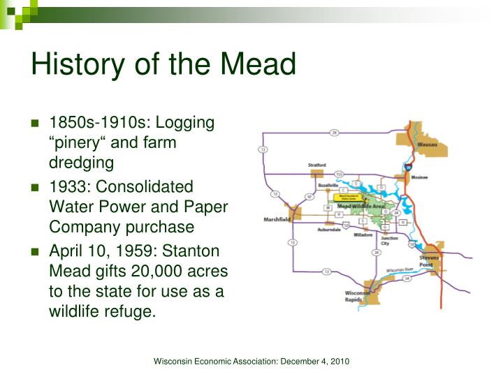 History of the Mead