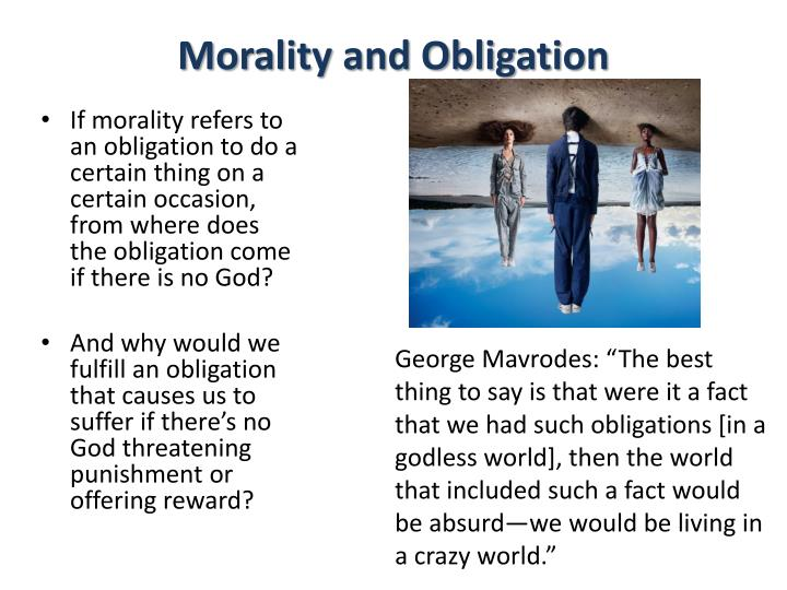 Morality and Obligation