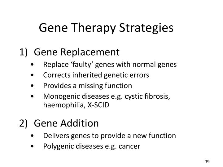 PPT - 5.2.3 Gene Therapy PowerPoint Presentation, free