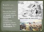 battles in virginia