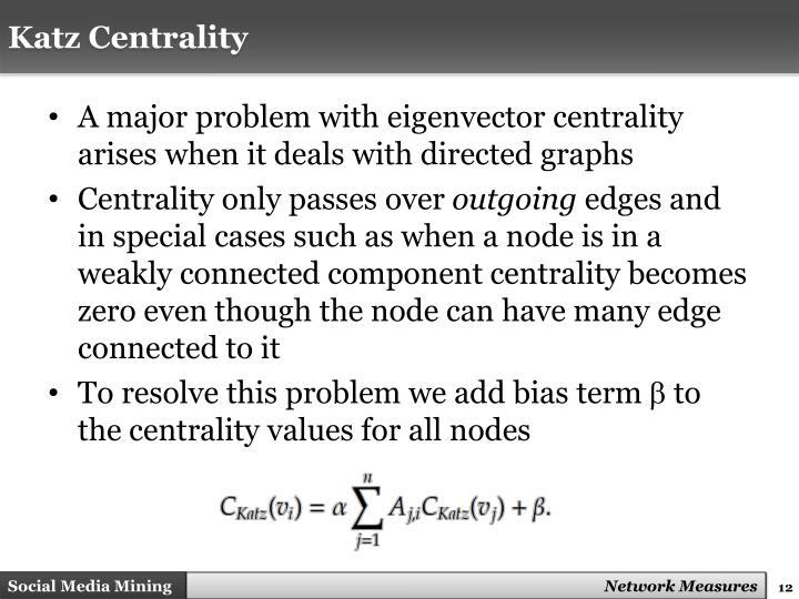 Katz Centrality