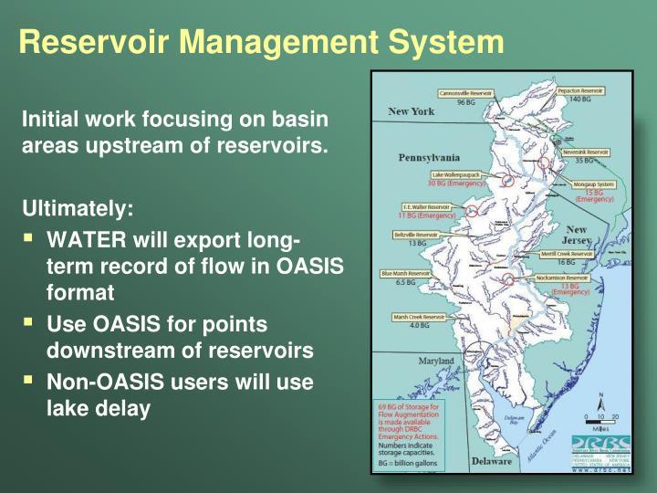 Reservoir Management System