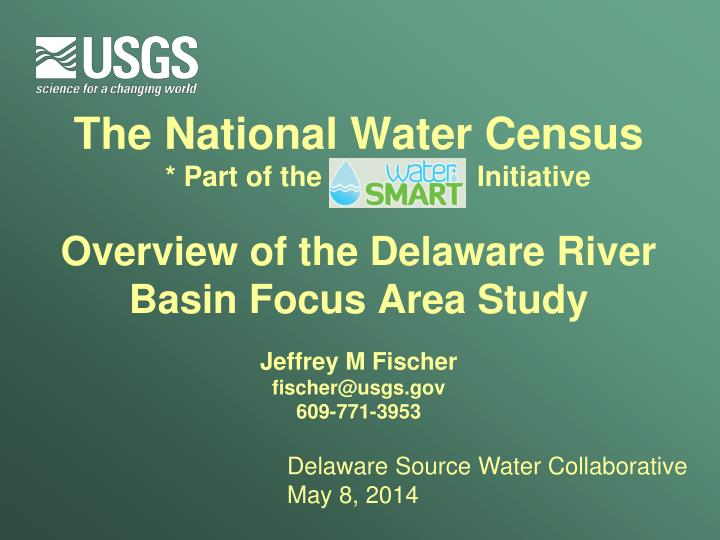 The National Water Census