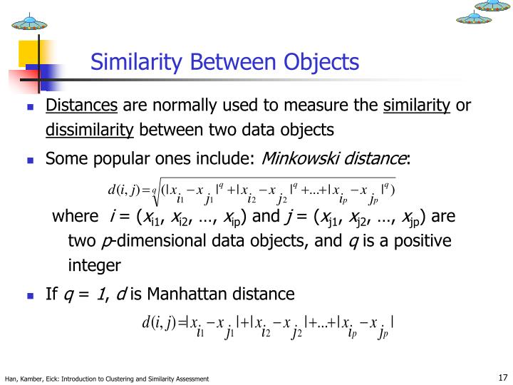 Similarity Between Objects